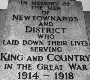 Newtownards WW1a
