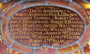 Bangor First Bangor Presbyterian FWW Dead 1