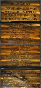 Bangor First Bangor Presbyterian SWW dead