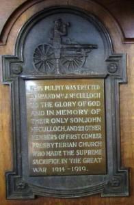 Comber First Presbyterian 006a