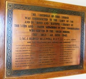 Kircubbin Presbyterian Church SWW