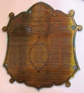 Bangor Trinity Presbyterian FWW