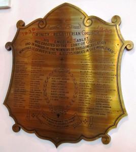 Bangor Trinity Presbyterian SWW