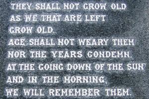 Downpatrick War Memorial SWW2