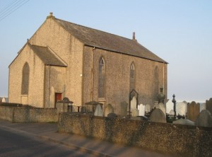 Cloughey Presbyterian Church old