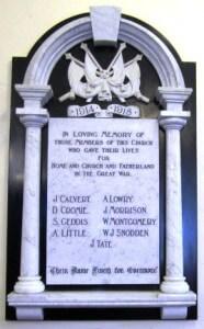 Killinchy Presbyterian Church killed