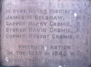 100304 020 Ballywalter War Memorial SWW